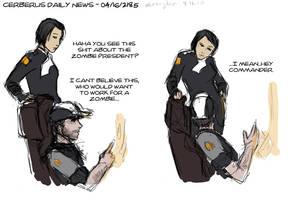 Mass Effect - CDN 'Zombies' by bluesnyder