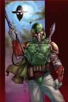 Boba Fett - BA Color Battle 02 by TrinityMathews