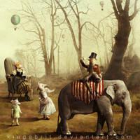 The Forgotten Tea Parade by KingaBritschgi