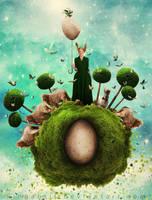 Easter Planet No. 27 by KingaBritschgi