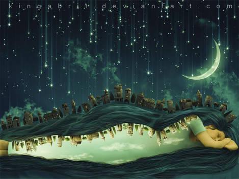 But a Dream Within a Dream by KingaBritschgi