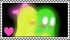 Greenie and mlinda stamp by Missesamy930