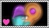 Baffin and belinda stamp by Missesamy930