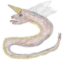 Nera Navo- Deathworm by Godzilla-Club