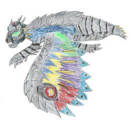 The Cosmic Moth- By Dinalfos5 by Godzilla-Club