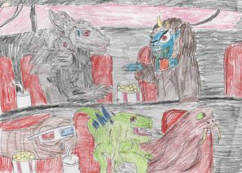 The Kaiju Kritics by Dinalfos5 by Godzilla-Club
