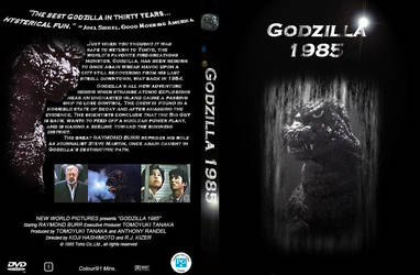 Godzilla 1985 Case NEW by Godzilla-Club