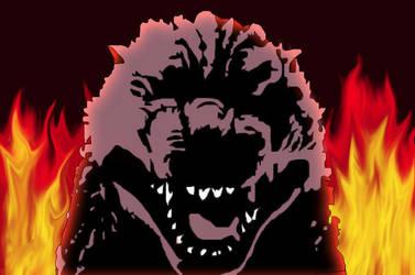 Godzilla's fury by Godzilla-Club