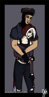 Gambit's Rogue by jgurlpunkrck
