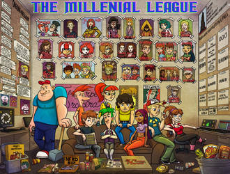 LOEG: The Millenial League by A-Fox-Of-Fiction