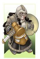 Warhammer Dwarf Maiden by Bhryn