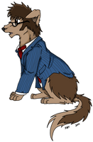Doctor Who Dogs - Ten by StarlightWhispers