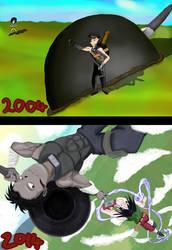 Draw this again - Ten years later... by Sazazezer