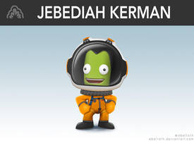 Jebediah Kerman Super Smash style by abeltoth