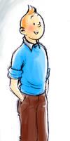 Hello, Tintin by QGildea