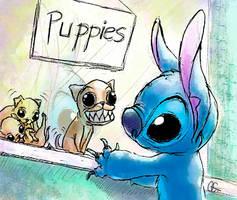 Puppy Sale by QGildea
