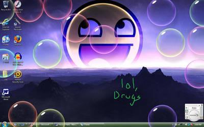 Desktop right now by Surly-U-Jest