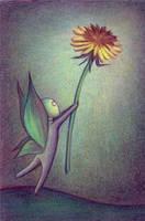 Dandelion by Enedlammeniel