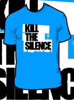Kill The Silence_ Suburb Shirt by JamesRuthless