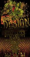 1987 Design flyer again by JamesRuthless