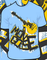mongoose guitar shirt by JamesRuthless