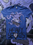 Heavy Hearts Octo Shirt by JamesRuthless