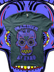 Sugar Skull Mariner T Shirt by JamesRuthless
