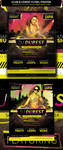 Club Dj Event Flyer / Poster by JamesRuthless