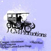 JCM Promotions by JamesRuthless