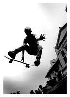 Indo Skater BW by Oddesign