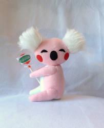 Candy Koala Plushie by XOFifi