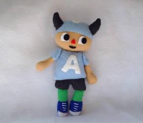 Animal Crossing Cutie Plushie by XOFifi