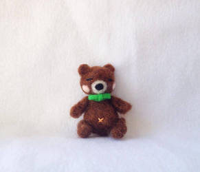 Felted Baby Bear by XOFifi
