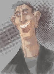 Doctor Eccleston by LightBombMike