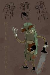 Kill Pickle by LightBombMike
