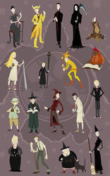 Discworld Cutouts by rhianimated