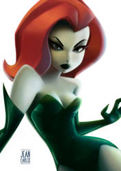 Poison Ivy by ilustrajean