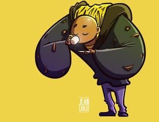 Luke Cage by ilustrajean