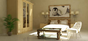 Bedroom by Darksign-Art