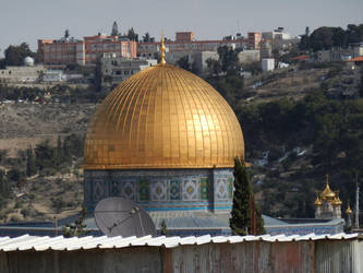 The Dome of the Rock Closer Up by wayne234