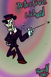 Dective Lichard by booshDawesome