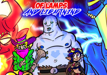 Of Lamps And Lightning by booshDawesome