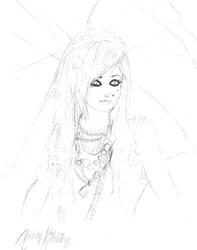 Audrey Kitching Sketch by minamongoose