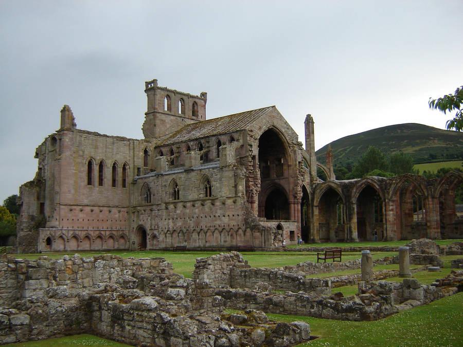 Melrose Abbey Scotland 002 by presterjohn1