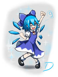 Cirno day! by Djapa30