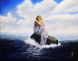 Lost at Sea by NorthumbrianArtist