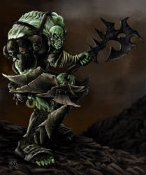 OrcSwashbuckler by DreddaBrutallac