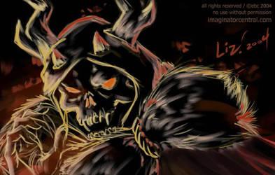 Horned King sketch by syrusbLiz