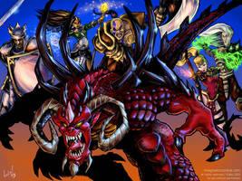 Diablo poster by syrusbLiz