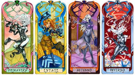 Seasons of the Widow by syrusbLiz